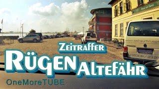TRIP to RÜGEN Strelasundquerung TOUR Insel Rügen ALTEFÄHR Zeitraffer Germany Timelapse  Rügenbrücke