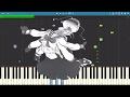 ECHO (Gumi English)  Crusher-P - The Living Tombstone Remix - Piano Cover / Tutorial