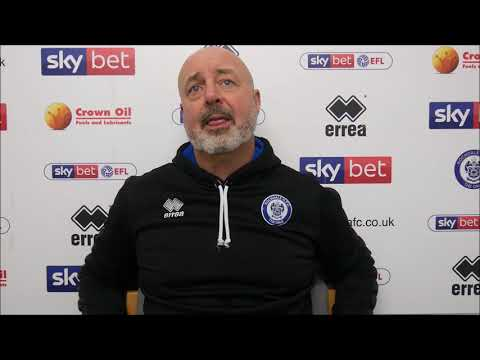 INTERVIEW | Keith Hill On Win Over Oldham Athletic
