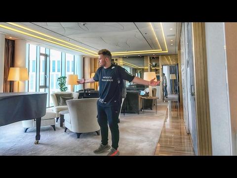 8000€ pro NACHT ! DIE KRASSESTE HOTEL SUITE DER WELT!