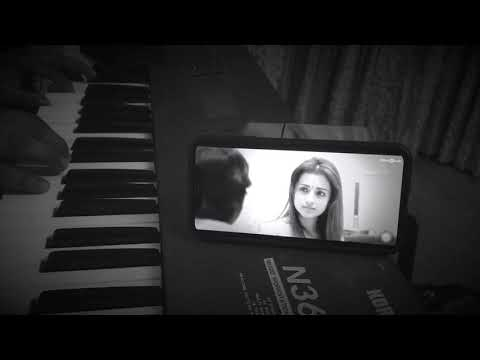 Kaathalae Kaathalae Piano - 96' Movie | Malik Unplugged | Vijay Sethupathi | Trisha