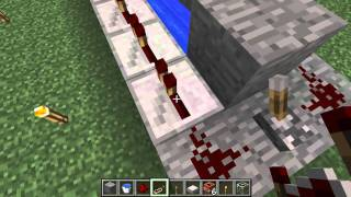 Minecraft How to: Make a TNT cannon (simple) 1.8.3
