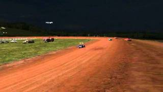 Dirt track racing 2 (PC) 2nd place 07_18_11