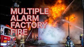 Multiple Alarm Factory Fire - Shenandoah, Pa. - 01/17/2020
