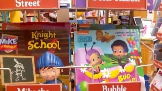 Barnes & Noble Book Shopping Video - Kids Character Storytime Picture Books & Toys!