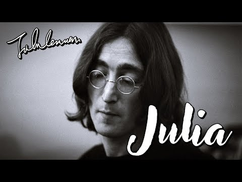 The Beatles - Julia (Lyrics)