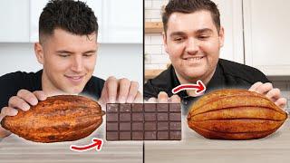 We Turned A Chocolate Bar Back Into A Cacao Pod