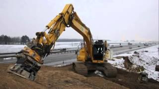Stehr SBV 120 HF Anbauverdichter (Praxisvideo aus Dänemark) [HD]