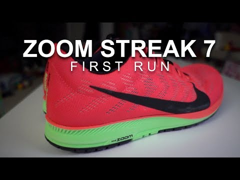 Nike Zoom Streak 7 - First Run