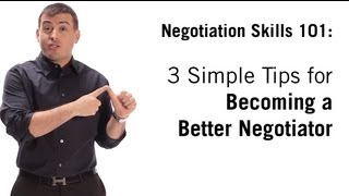 Negotiation Skills: 3 Siṁple Tips On How To Negotiate