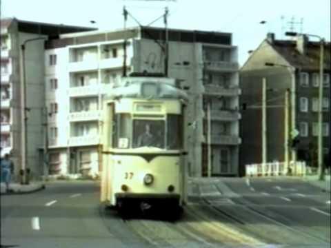 HALBERSTADT TRAMS 1987
