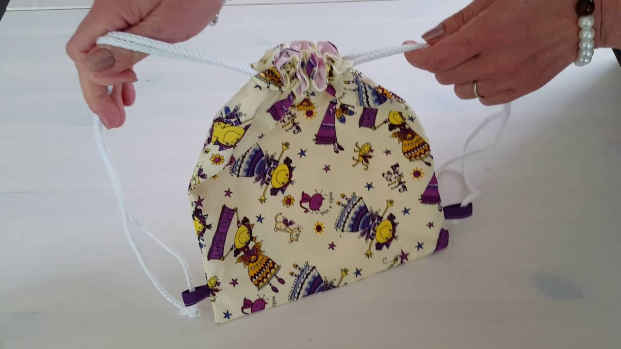 Tutoriel pour faire un sac dos enfant youtube - Creer un doudou pour bebe ...