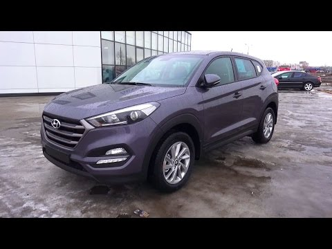2016 Hyundai Tucson Comfort 2.0 AT 4WD. Start Up, Engine, and In Depth Tour.
