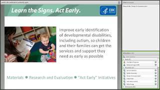Act Early Ambassadors Webinar