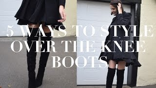 One of Lizzy Hadfield's most viewed videos: Five Ways To Style Over The Knee Boots | ad