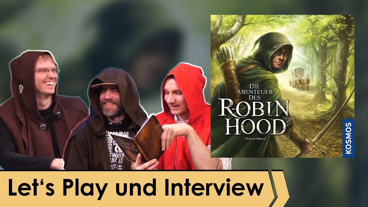 Die Abenteuer des Robin Hood – Brettspiel – Kosmos   Let's Play spezial