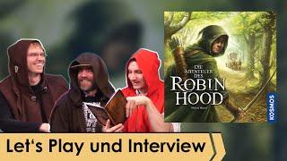 Die Abenteuer des Roḃin Hood – Brettspiel – Kosmos - Let's Play spezial