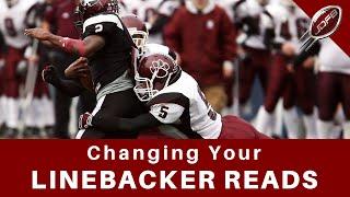 Why You Shouldn't Change Linebacker Reads | Joe Daniel Football