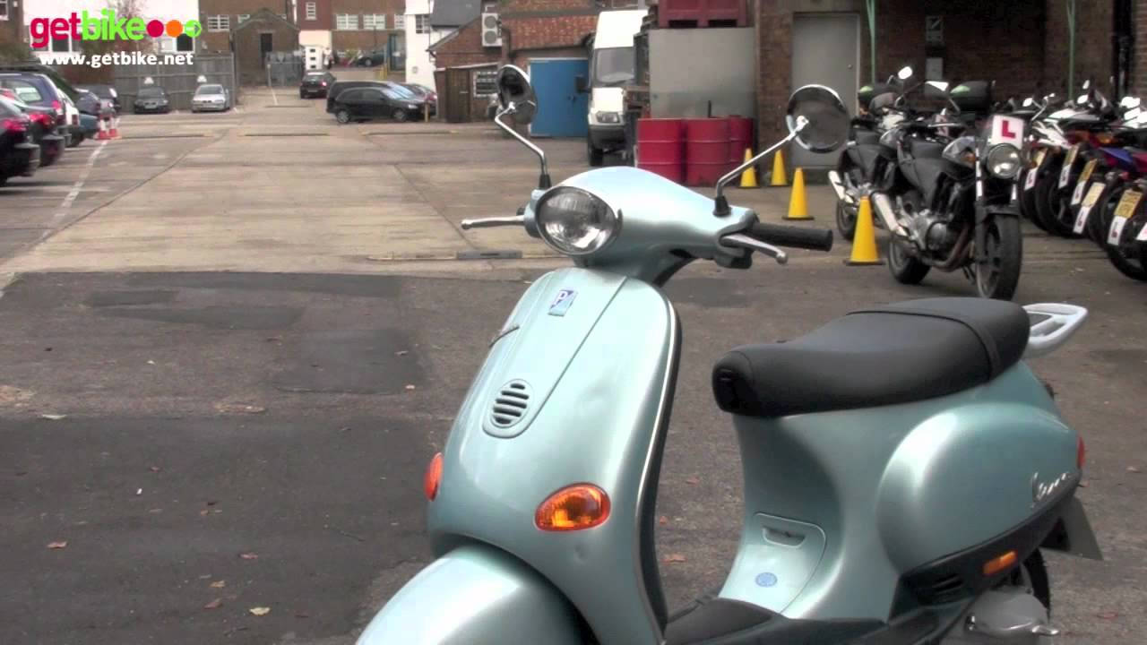 vespa et2 50 walk around by getbike jbu youtube. Black Bedroom Furniture Sets. Home Design Ideas