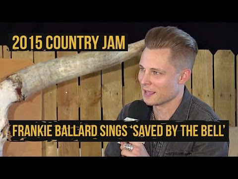 Frankie Ballard Sings the 'Saved By the Bell' Theme - 2015 Country Jam