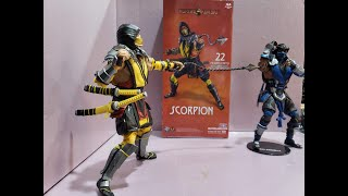 Scorpion Mortal Kombat 11 Todd McFarlane Figure Review and Toy Hunt at Walmart, KMart, and Target.