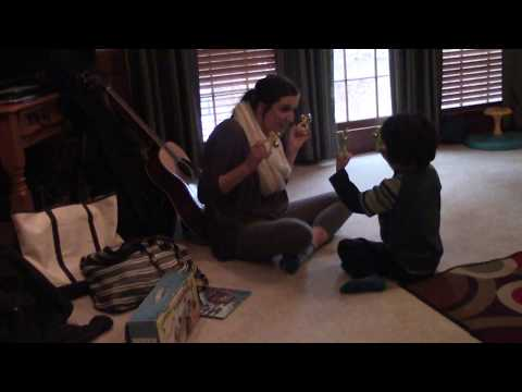 Little Bradley during Music Therapy on December 16, 2017 - Video 5