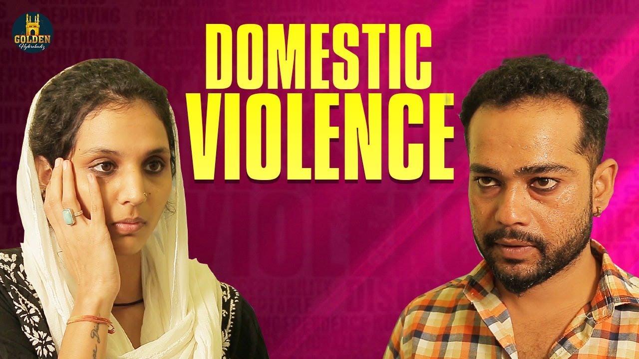 Domestic Violence | Abdul Razzak | Social Message | Latest Hindi Web Series | Golden Hyderabadiz