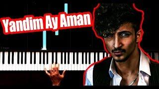 Alican - Yandim Ay Aman - Piano Tutorial by VN