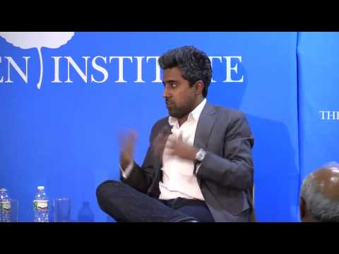 """New York Times columnist Anand Giridharadas on his new book """"The True American"""" with David Brooks"""