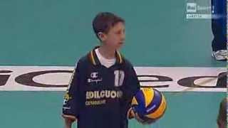 Bovo Day - Alessandro Bovolenta in battuta per la Nazionale Italiana di Volley
