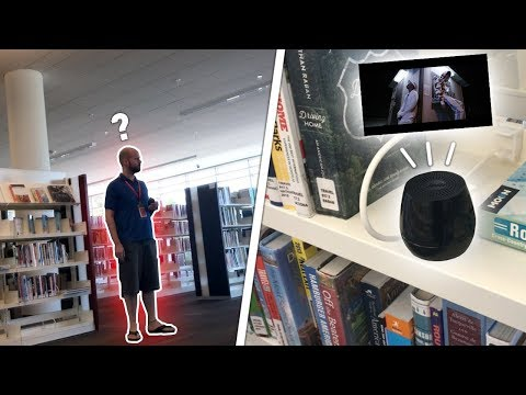 """BLASTING """"KSI ft. RiceGum - Earthquake"""" IN A PUBLIC LIBRARY"""