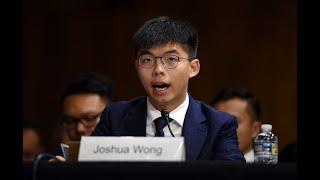 Thủ lĩnh biểu tình Hồng Kông Joshua Wong điều trần tại Quốc Hội Mỹ