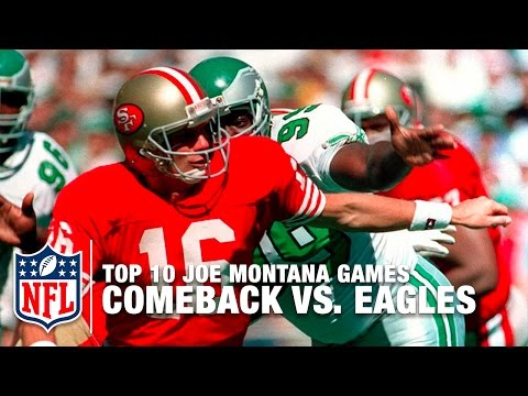 #2: 1989 Comeback vs. Eagles | Top 10 Joe Montana Games of All Time | NFL Films