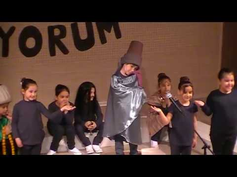 Bornova Koleji Okuma Bayramı 1-C Tiyatro Gösterisi 14.04.2017
