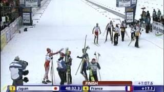 2009 ノルディックスキー世界選手権 複合団体 金メダル 渡部暁斗 検索動画 23