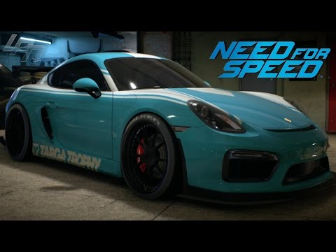NEED FOR SPEED (2015) - PORSCHE CAYMAN GT4 GAMEPLAY (TUNING, CRUISING, DRIFTING, RACES)