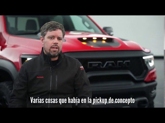 Detalles de diseño de la nueva Ram TRX 1500 2021, la pickup de producción más potente del mundo