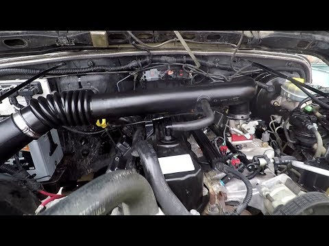 2002 Jeep Wrangler Engine Clean