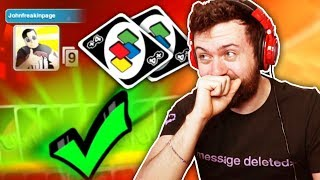 HE FORGOT THE RULES! | UNO w/ The Derp Crew