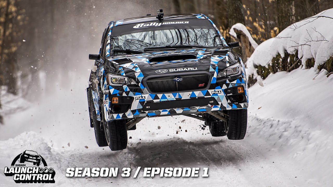 New 2015 Subaru WRX STI Rally Car – Launch Control Episode 3.1 - YouTube