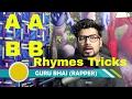 HINDI RAP Rhymes Tips Tricks AABB + 5 Example   HINDI RAP 2017   GURU BHAI RAPPER   NEW VIDEO