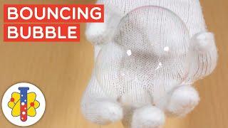 Bouncing Bubbles DIY Science Experiment #Shorts #backtobasics #science #experiments