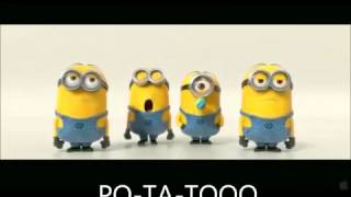 Minions BANANA POTATO Lyrics Despicable Me 2 Mi Villano Favorito 2  www ActivosCosmeticos com