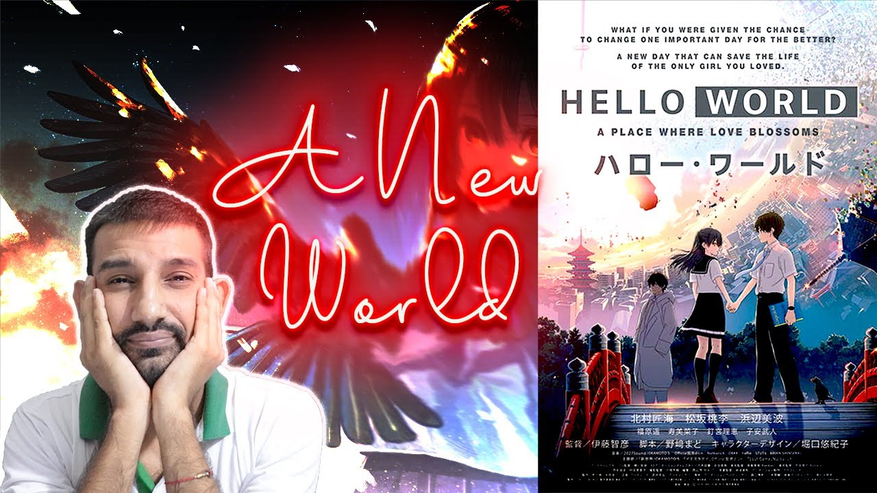 Download Hello World (2019) Anime Movie Review in Hindi   Haruka Fukuhara, Minami Hamabe, Takumi Kitamura  