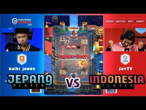 TURNAMEN CRL DI TAIWAN! (JayTV) Chaos Theory vs (Raiki Jones) PONOS - Clash Royale League Asia 2018
