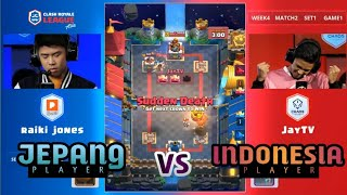 TURNAMEN CRL DI TAIWAN! (JayTV) Chaos Theory vs (Raiki Jones) PONOS - Clash Royale League Asia 2018