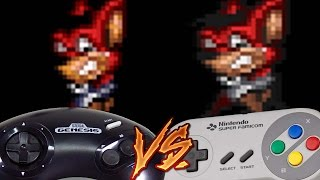 Sega Genesis Vs Super Nintendo - Aero the Acro-Bat