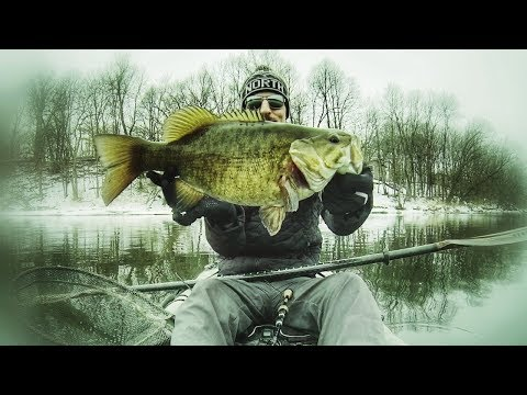 Mississippi River Winter Smallies