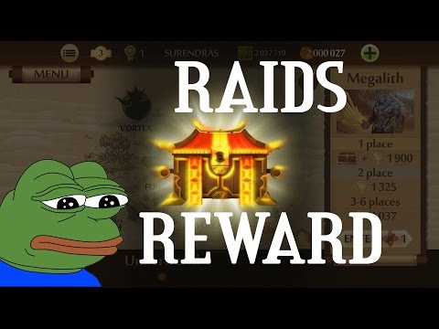 Raids Rewards (Thanks Nekki !!)