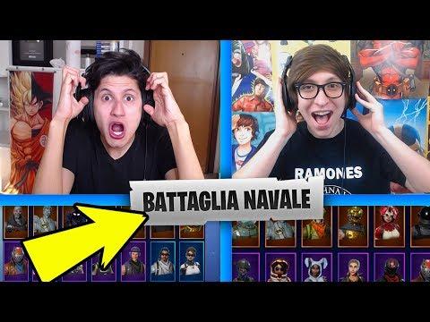 BATTAGLIA NAVALE FORNITE in LIVE!! Chi vince prende tutto il Montepremio